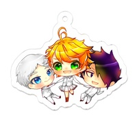 Key Chain - The Promised Neverland / Emma & Norman & Ray