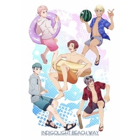 Doujinshi - Star-Mu (High School Star Musical) / Hoshitani Yuta & All Characters (Star-Mu) (INDIGOLIGHT BEACH WAY 【コピー本有】INDIGOLIGHT BEACH WAY) / ほっかほか食堂