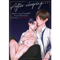 [Boys Love (Yaoi) : R18] Doujinshi - Shingeki no Kyojin / Eren x Levi (【After sleeping】) / トロイメライ