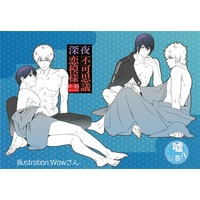 [Boys Love (Yaoi) : R18] Doujinshi - Novel - Gintama / Gintoki x Shinpachi (深夜不可思議恋模様) / USO800