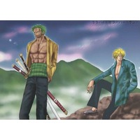 [Boys Love (Yaoi) : R18] Doujinshi - Novel - ONE PIECE / Zoro x Sanji (ララバイ・オブ・バードランド) / 架空の卵