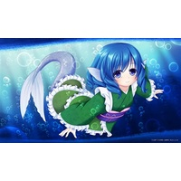 Card Game Playmat - Touhou Project / Wakasagihime