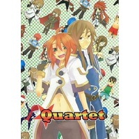 Doujinshi - Tales of the Abyss / Jade x Luke (Quartet) / Be.