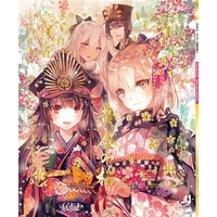 Doujinshi - Illustration book - Anthology - Fate/Grand Order / Abigail Williams & Katsushika Hokusai & Oda Nobunaga & Okita Souji (カルデア・デイズ~黄金の桜~) / イレブンナイン