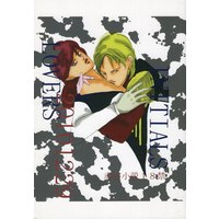 [Boys Love (Yaoi) : R18] Doujinshi - Gundam series / Char Aznable x Amuro Ray (LOVERS) / INITIALS