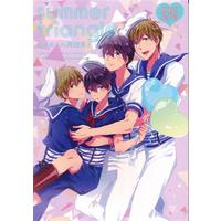 [Boys Love (Yaoi) : R18] Doujinshi - Omnibus - High Speed! / Makoto x Haruka (summer triangle あめあられ再録集 3) / あめあられ