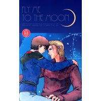 [Boys Love (Yaoi) : R18] Doujinshi - Gundam series / Char Aznable x Amuro Ray (FLY ME TO THE MOON) / Lagrangian Point