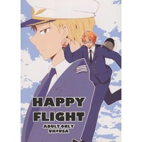 [Boys Love (Yaoi) : R18] Doujinshi - Hetalia / United Kingdom x America (HAPPY FLIGHT) / Part.1200