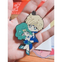 Rubber Strap - Sailor Moon / Tenou Haruka (Sailor Uranus) & Kaiou Michiru (Sailor Neptune)