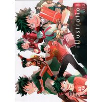 Doujinshi - Illustration book - My Hero Academia / Todoroki Shouto x Midoriya Izuku (illustration *イラスト本) / YAYUN
