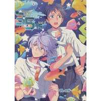 [Boys Love (Yaoi) : R18] Doujinshi - Anthology - Evangelion / Shinji x Kaworu (3×5=15 さんごじゅうご Vol.2) / 蒼穹の堕天使