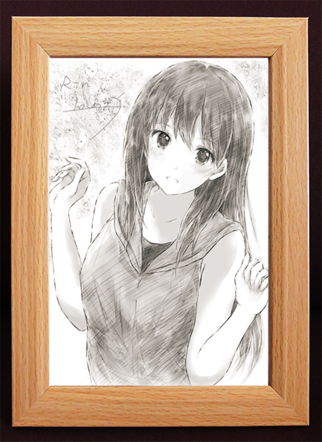 Original Drawing - IM@S: Cinderella Girls / Shibuya Rin