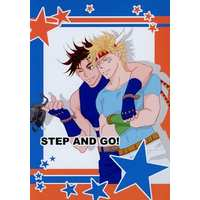 Doujinshi - Jojo Part 2: Battle Tendency / Joseph x Caesar (STEP AND GO!) / MARS