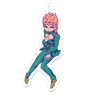 Key Chain - Jojo Part 5: Vento Aureo / Giorno Giovanna