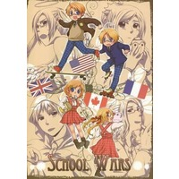 Doujinshi - Hetalia / France & America & Canada & United Kingdom (SCHOOL WARS) / EMPTY