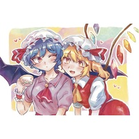 Plastic Folder - Touhou Project / Remilia & Flandre