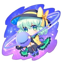 Key Chain - Touhou Project / Komeiji Koishi
