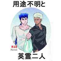 [Boys Love (Yaoi) : R18] Doujinshi - Novel - Fate/stay night / Lancer  x Archer & Lancer x Archer (用途不明と英霊二人) / DEVO ANDARE