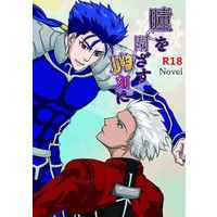 [Boys Love (Yaoi) : R18] Doujinshi - Novel - Fate/hollow ataraxia / Lancer (Fate/stay night) x Archer (Fate/stay night) (瞳を閉ざす暁刻に) / DEVO ANDARE