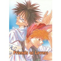 Doujinshi - Manga&Novel - GetBackers / Midou Ban x Amano Ginji (Friends or Lovers) / RISTANCE/八重桜