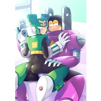[Boys Love (Yaoi) : R18] Doujinshi - Rockman / Mega Man (GOOD WEEKEND) / PUSH