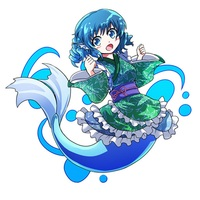 Key Chain - Touhou Project / Wakasagihime