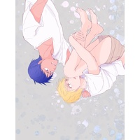 [Boys Love (Yaoi) : R18] Doujinshi - Kuroko's Basketball / Aomine x Kise (「LOVELY LOVELESS LOVER」) / ナイツ