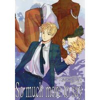 Doujinshi - Hetalia / America x United Kingdom (So much more to say *状態B) / arekore