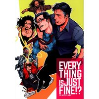 Doujinshi - Batman / Clark x Bruce ((稲葉たろ) EVERY THING IS JUST FINE!?) / ROTTEN LABEL