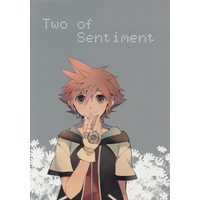 Doujinshi - Anthology - KINGDOM HEARTS / Riku x Sora ((海) Two of Sentiment *合同誌 ☆キング●ムハーツ) / 白黒勇者
