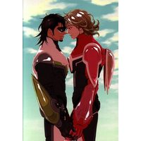 Doujinshi - Illustration book - TIGER & BUNNY (イラスト集 ☆TIGER & BUNNY) / 小区/しろノート