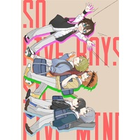 Doujinshi - Anthology - IM@S SideM (So five boys, so five minds.) / 営業時間外