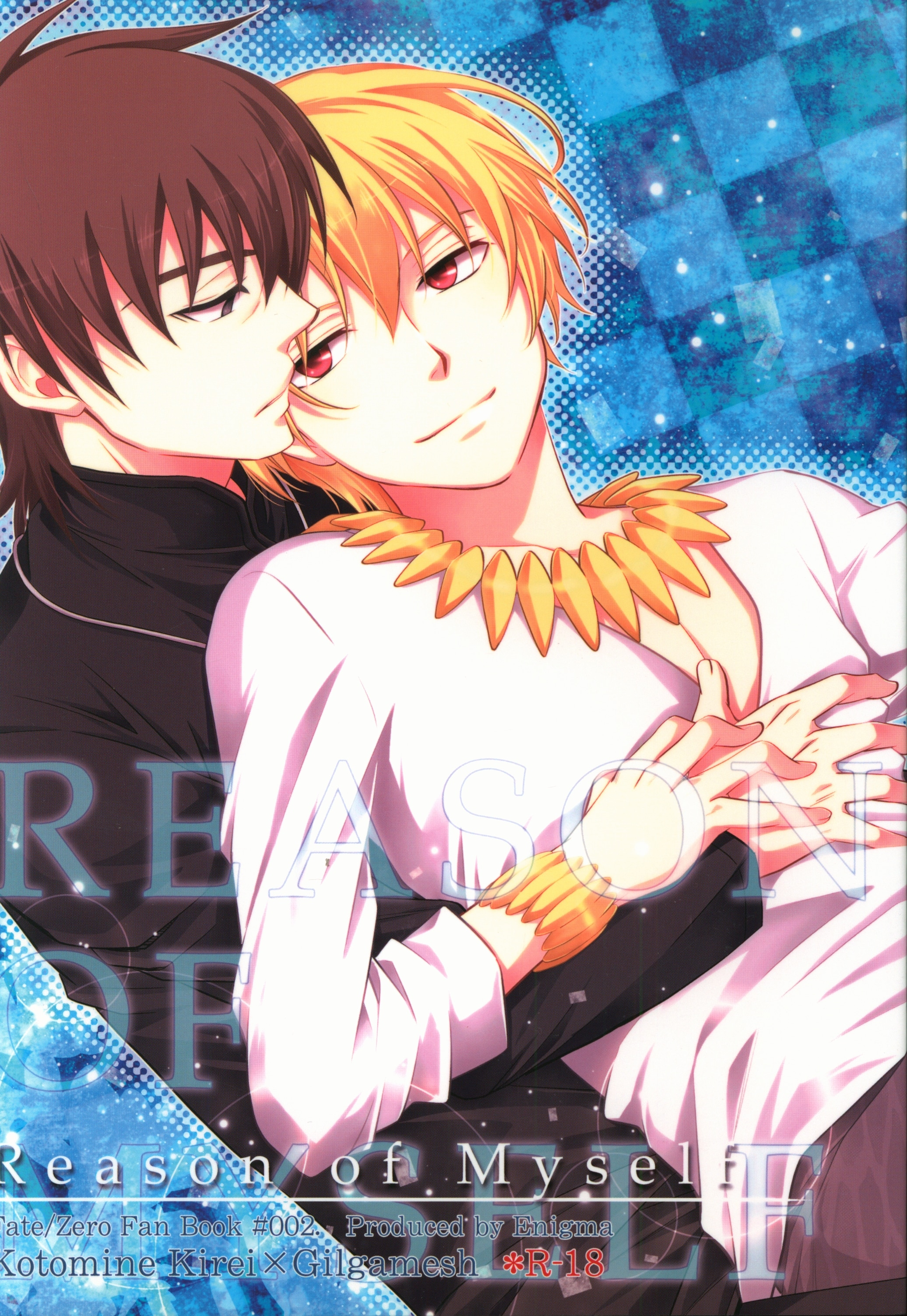 [Boys Love (Yaoi) : R18] Doujinshi - Fate/Zero / Kirei Kotomine x Archer (Fate/zero) (Reason of Myself) / Enigma