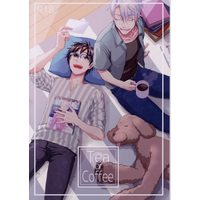 [Boys Love (Yaoi) : R18] Doujinshi - Novel - Yuri!!! on Ice / Victor x Katsuki Yuuri (Tea or Coffee? *再録 *文庫) / Helen