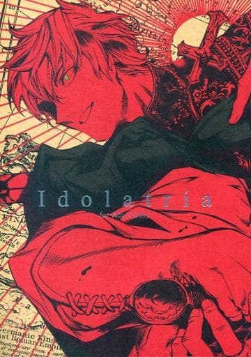 [Boys Love (Yaoi) : R18] Doujinshi - Novel - Hetalia / Spain (Antonio) x Netherlands (Idolatria) / etwas