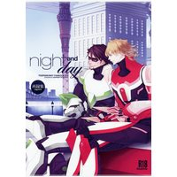 [Boys Love (Yaoi) : R18] Doujinshi - TIGER & BUNNY / Kotetsu x Barnaby (night and day *再録) / nightflight