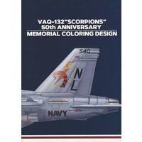 "Doujinshi - Military (VAQ−132 ""SCORPIONS"" 50th ANNIVERSARY MEMORIAL COLORING DESIGN) / AlertHangar"