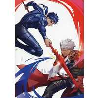 Doujinshi - Fate/Grand Order / Lancer (Fate/stay night) x Archer (Fate/stay night) (Blue Red) / ラム