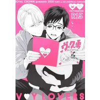Doujinshi - Yuri!!! on Ice / Victor x Katsuki Yuuri (V Y LOVERS) / ROYAL CROWN