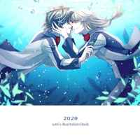 Doujinshi - Illustration book - Fafner in the Azure / Minashiro Soshi x Makabe Kazuki (2020 -szm's Illustration Book-) / cynicism