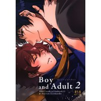 [Boys Love (Yaoi) : R18] Doujinshi - Blood Blockade Battlefront / Steven A Starphase x Leonard Watch (Boy and Adult *再録 2 ☆血界戦線) / Teion Yakedo