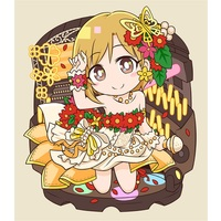 Key Chain - IM@S: Cinderella Girls / Aiba Yumi