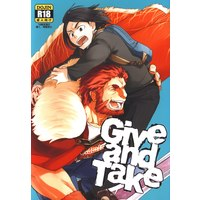 [Boys Love (Yaoi) : R18] Doujinshi - Fate/Zero / Rider & Waver (Give and Take) / 西から東へ
