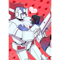 [Boys Love (Yaoi) : R18] Doujinshi - Transformers / Starscream & Skyfire (Jetfire) (My cute Screamer) / しょーとく!
