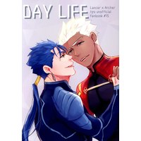 Doujinshi - Fate/Grand Order / Lancer (Fate/stay night) x Archer (Fate/stay night) (DAY LIFE ☆Fate/GrandOrder) / NULL
